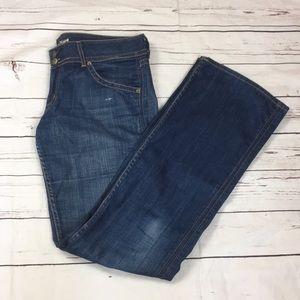 Hudson med wash flare jean size 30